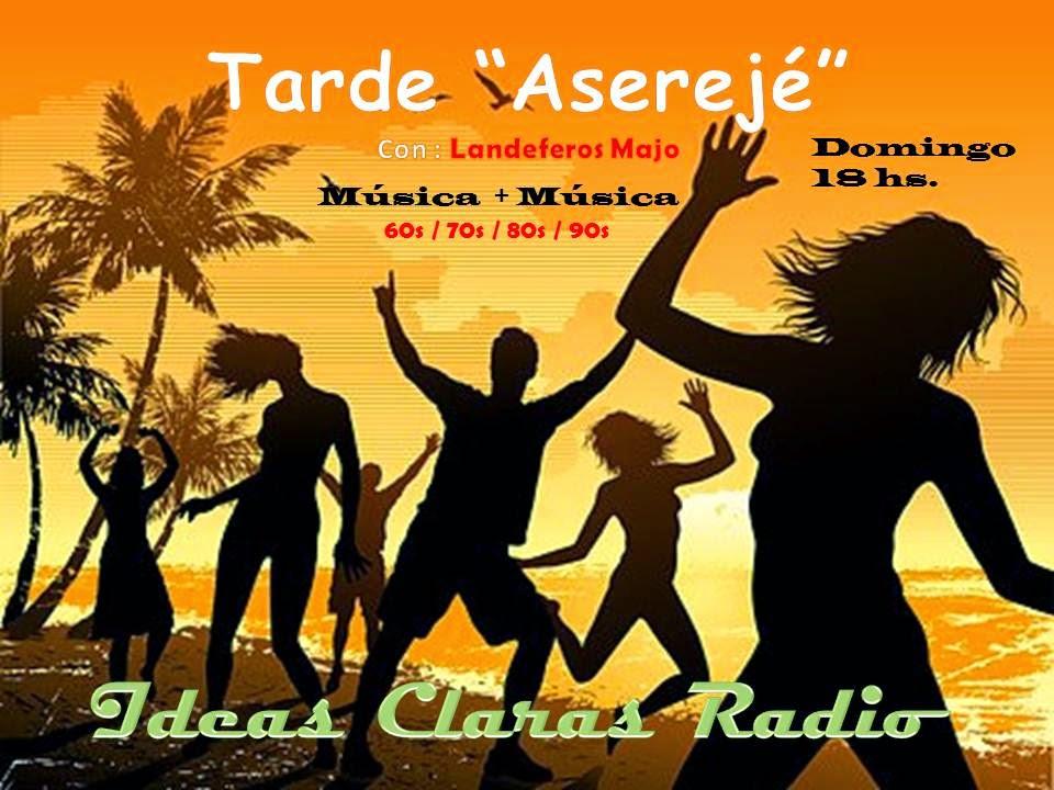 """Tarde """"Aserejé"""" con Landeferos Majo Domingo 18hs."""