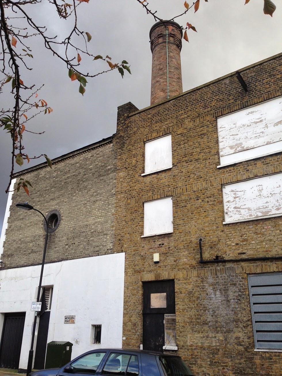 Disused building, Mendora Road, Fulham, London SW6