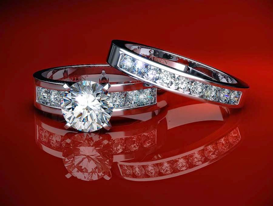 Diamond Wedding Rings Sets for Men and Women James Allen Design pictures hd