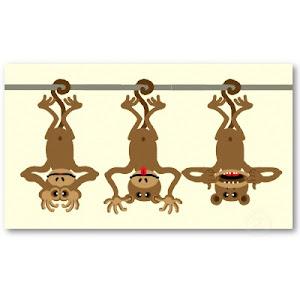 Três Sábios Macacos.