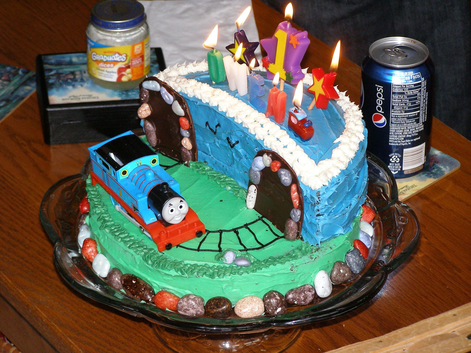 Just Picture It Thomas The Tank Engine Birthday Cake