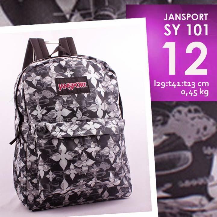 jual online tas ransel jansport murah motif/ corak