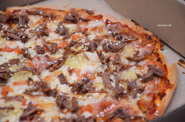 Oz's Beef Delight Pizza