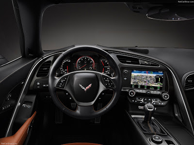 Corvette Stingray on Painel Do Novo Corvette Stingray  C7    Netcarshow Com