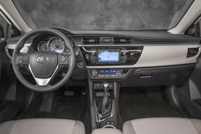 Novo Corolla 2014 interior painel