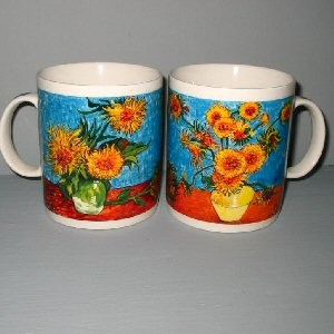 Vincent Van Gogh Sunflowers Ceramic Mug