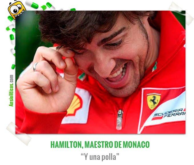 Chiste de Fórmula 1 de Fernando Alonso