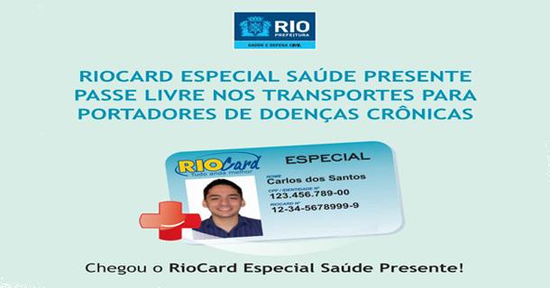 RIO CARD ESPECIAL-SAÚDE PRESENTE