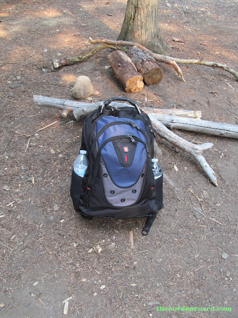 Outlet Campgrounds At Priest Lake, Idaho: SwissGear Ibex Backpack Ready For Business