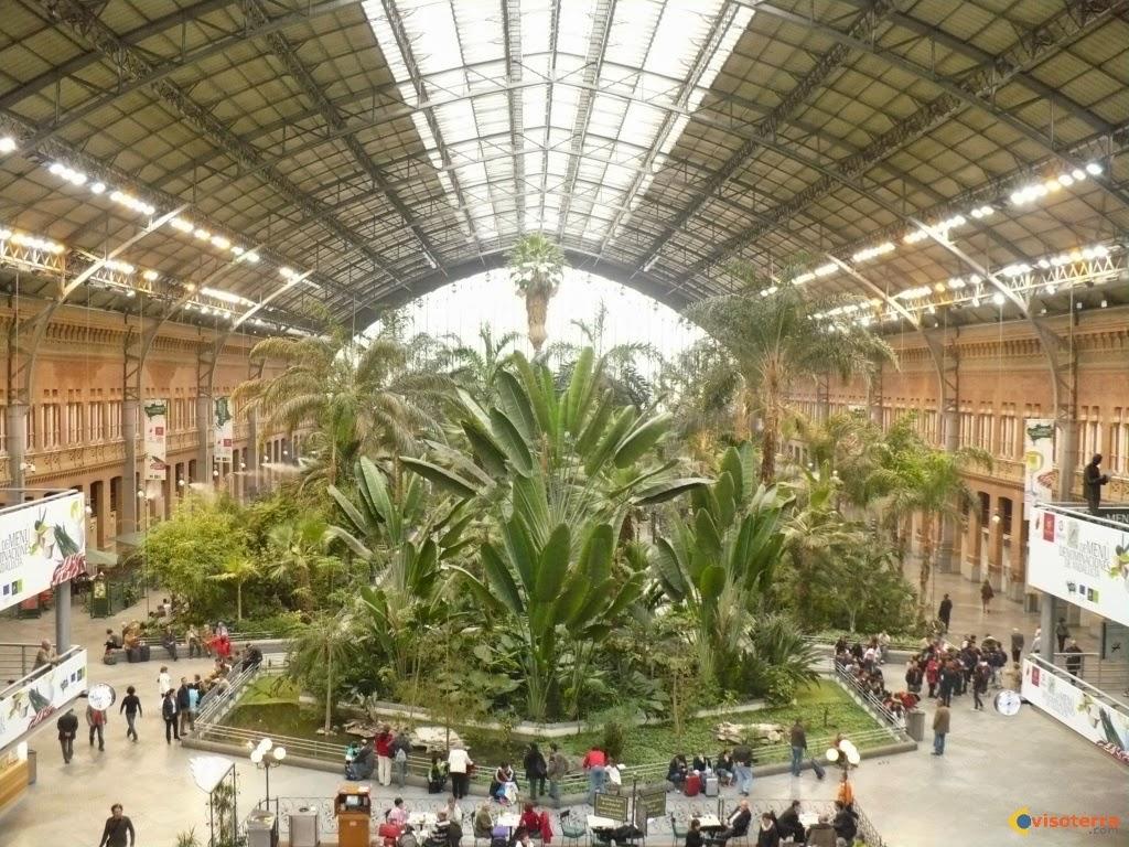 محطة اتوتشا (Atocha-Madrid) في مدريد