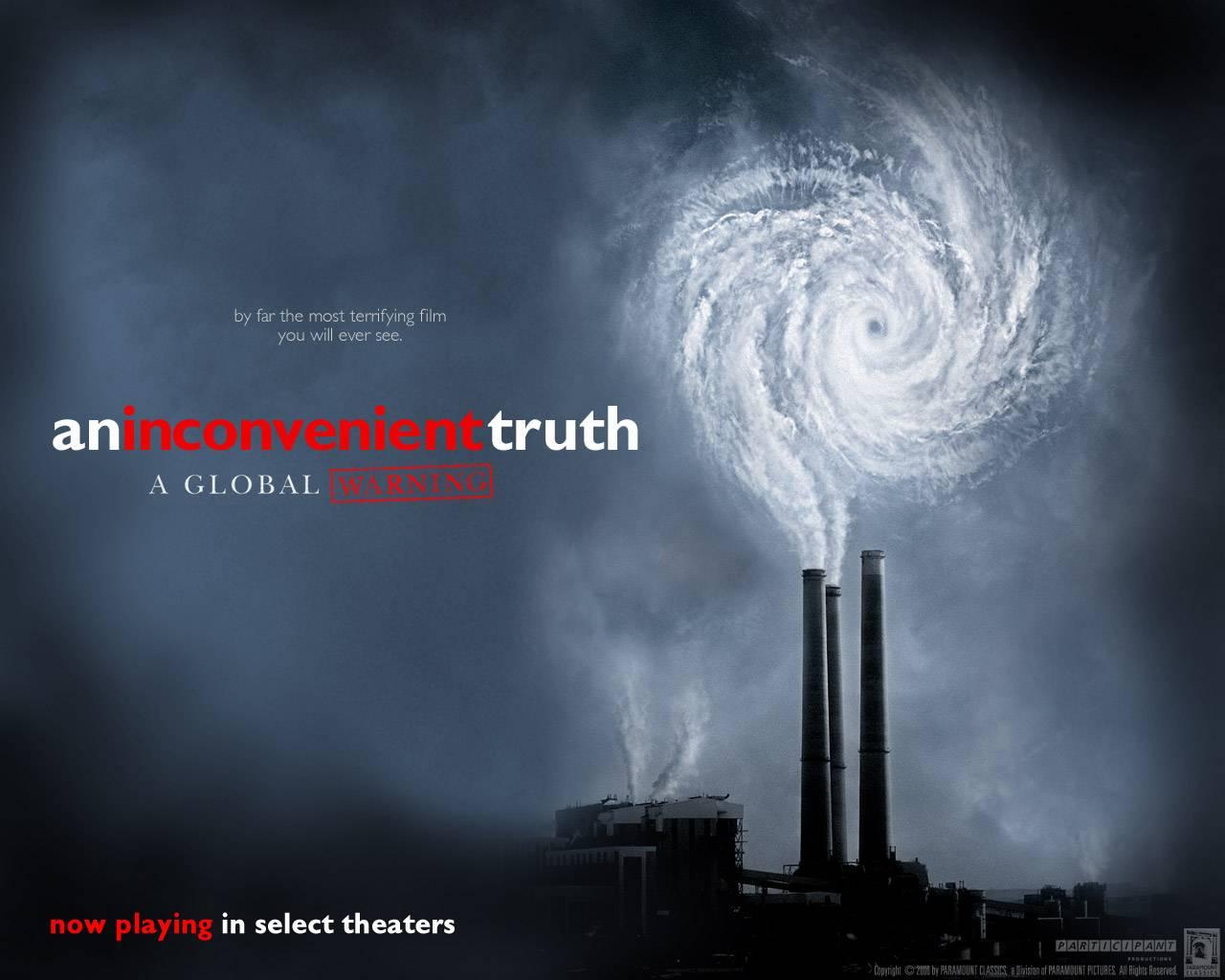 Uma  verdade  inconveniente, venceu o Oscar de 2007 por melhor documentário