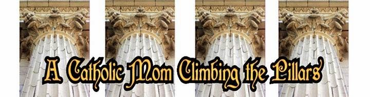 A Catholic Mom climbing the Pillars