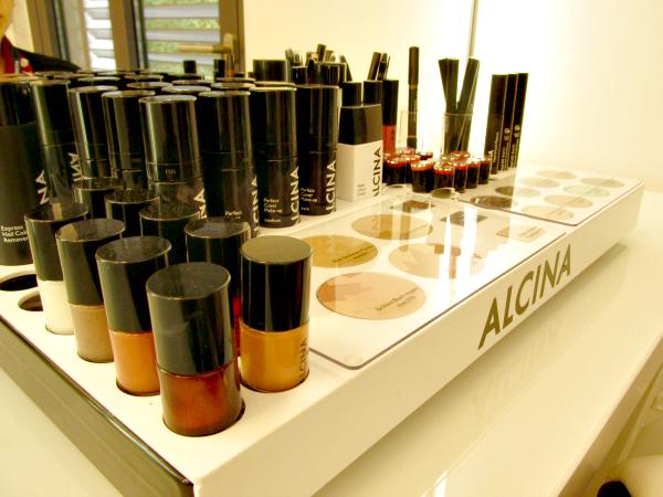 ALCINA Blogger Event Dekorative Kosmetik