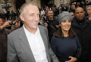Salma Hayek Husband Francois-Henri Pinault 2012