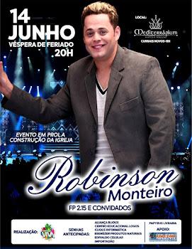 Robinson Monteiro no Mediterranium Eventos