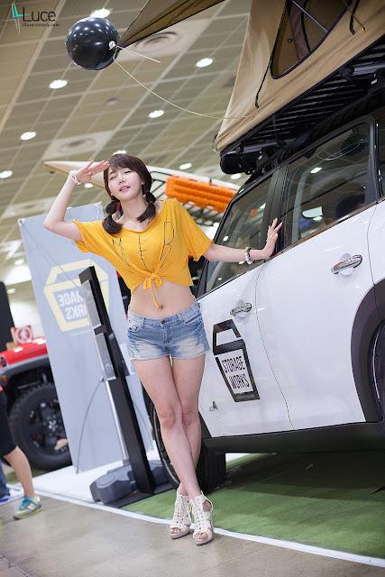 Han Ga Eun - Short Jeans at KAS 2013