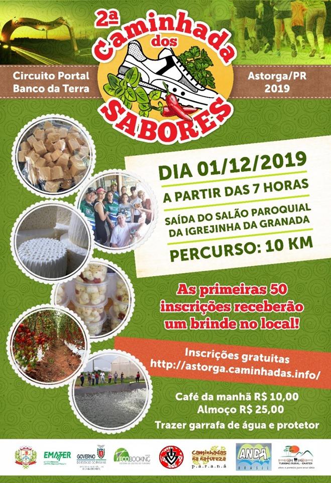 Caminhada dos Sabores em Astorga 01/12/2019