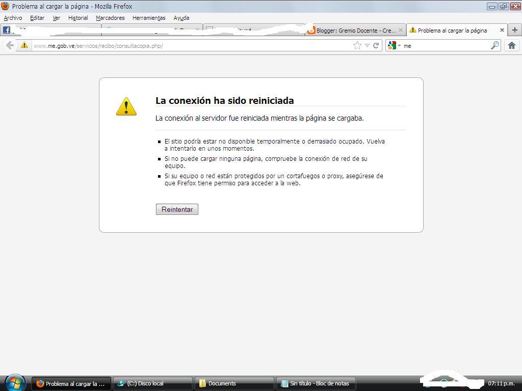 Gremio docente el colmo aumenta la represi n virtual for La pagina del ministerio