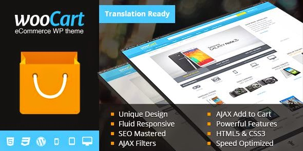 WooCart Ultimate WordPress eCommerce Theme