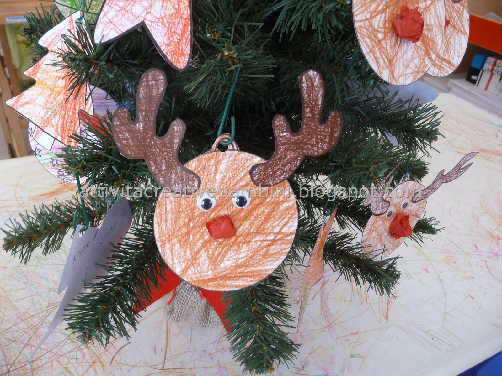 abbastanza Palline Renna per decorare l'albero di Natale FQ56