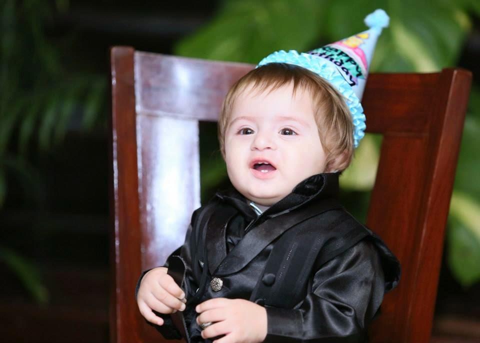 kanwar amp fatima effendi celebrating first birthday of