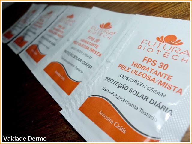 Filtro Solar Hidratante Pele Oleosa/Mista FPS 30 da Futura Biotech