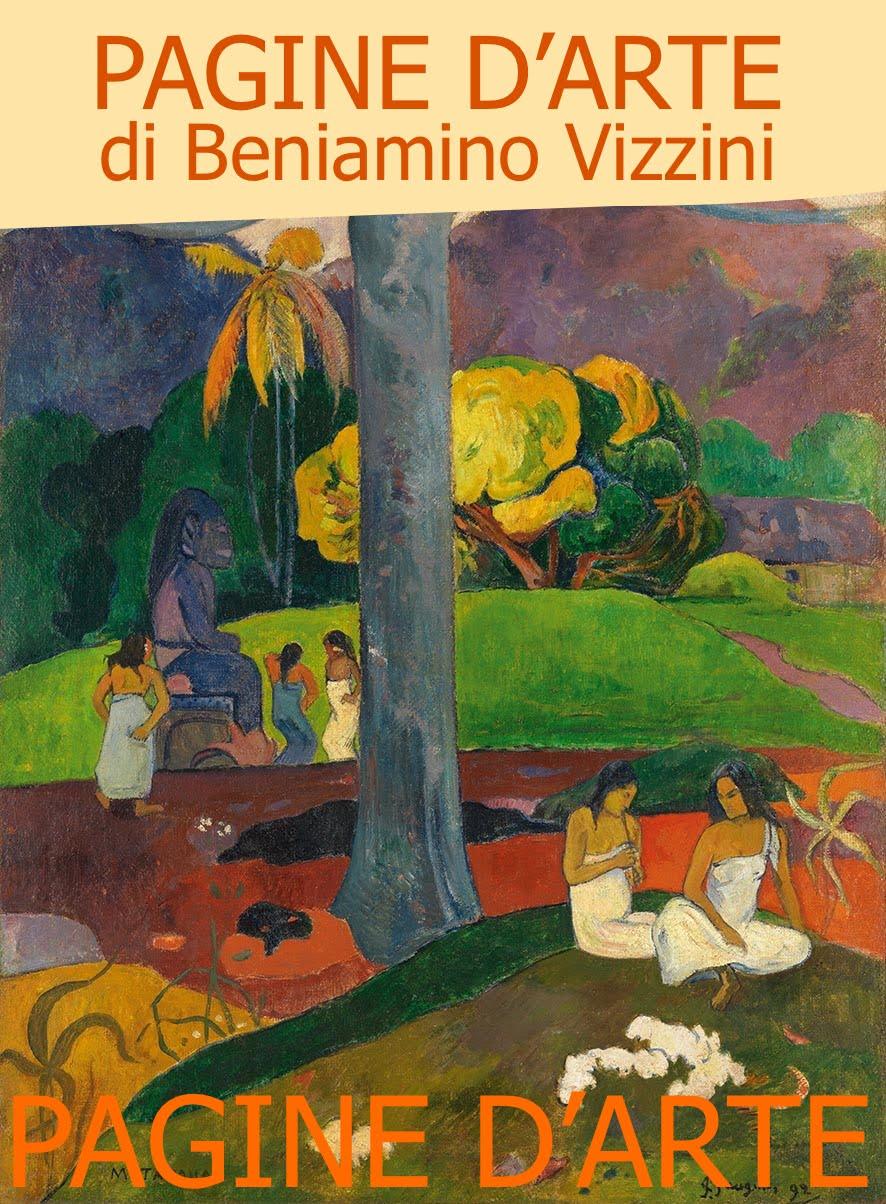 PAGINE D'ARTE DI BENIAMINO VIZZINI: