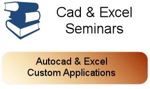 Cad & Excel Seminars