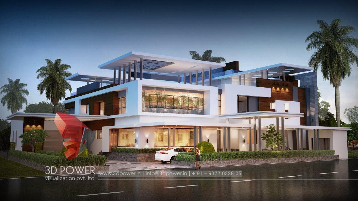 Ultra modern home designs home designs 3d exterior home for Ultra modern exterior design