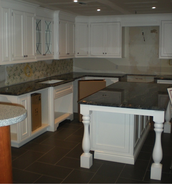 Countertop Makeover : Monarch Kitchens Showroom Makeover: Countertop Installed! Monarch ...