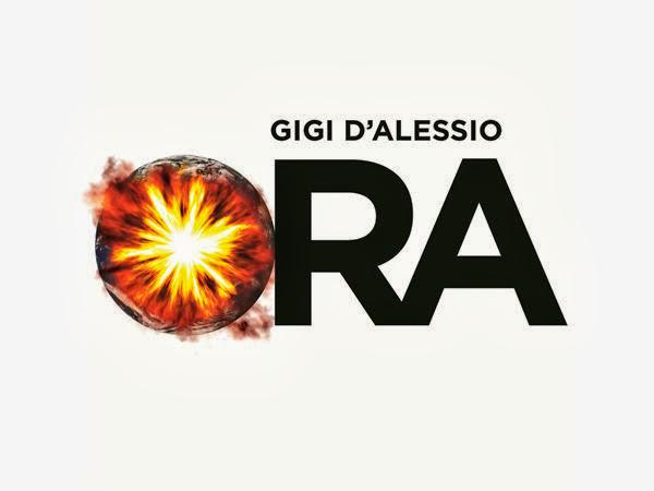 Copertina testo download Ora - Gigi D'Alessio