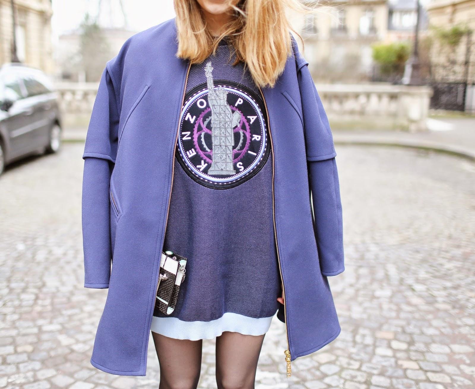 kenzo, pardonmyobsession x kenzo, paris, streetstyle, zara, fashion blogger