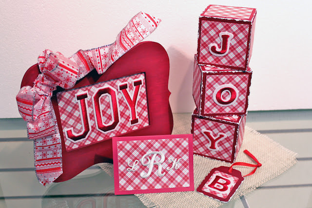 joy letters christmas crafts