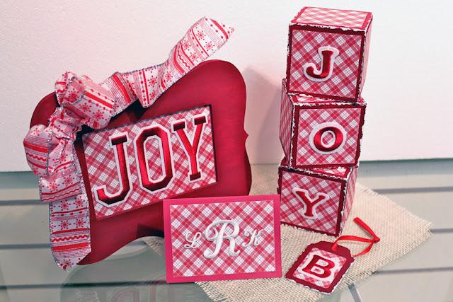joy letters christmas crafts