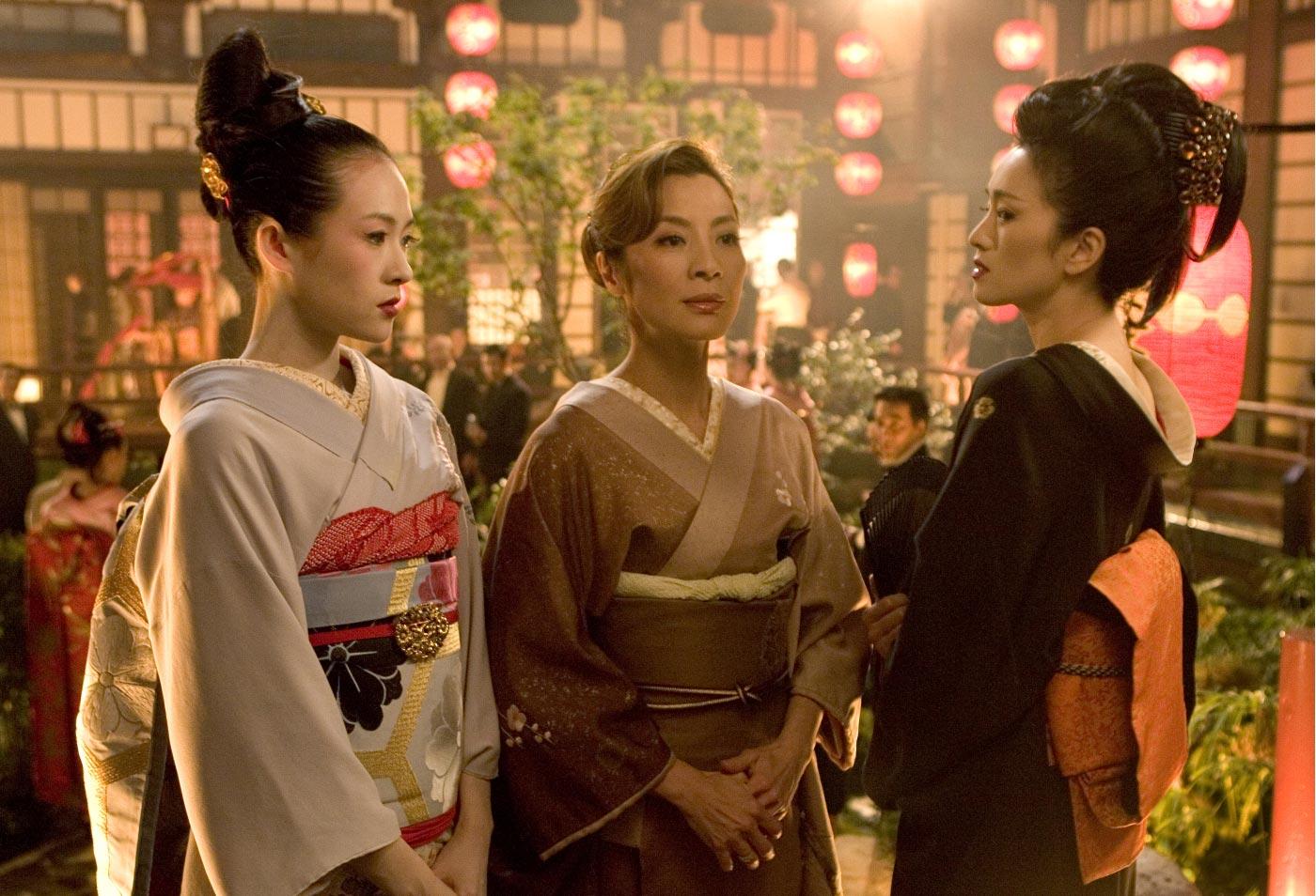 Sayuri en memorias de una geisha