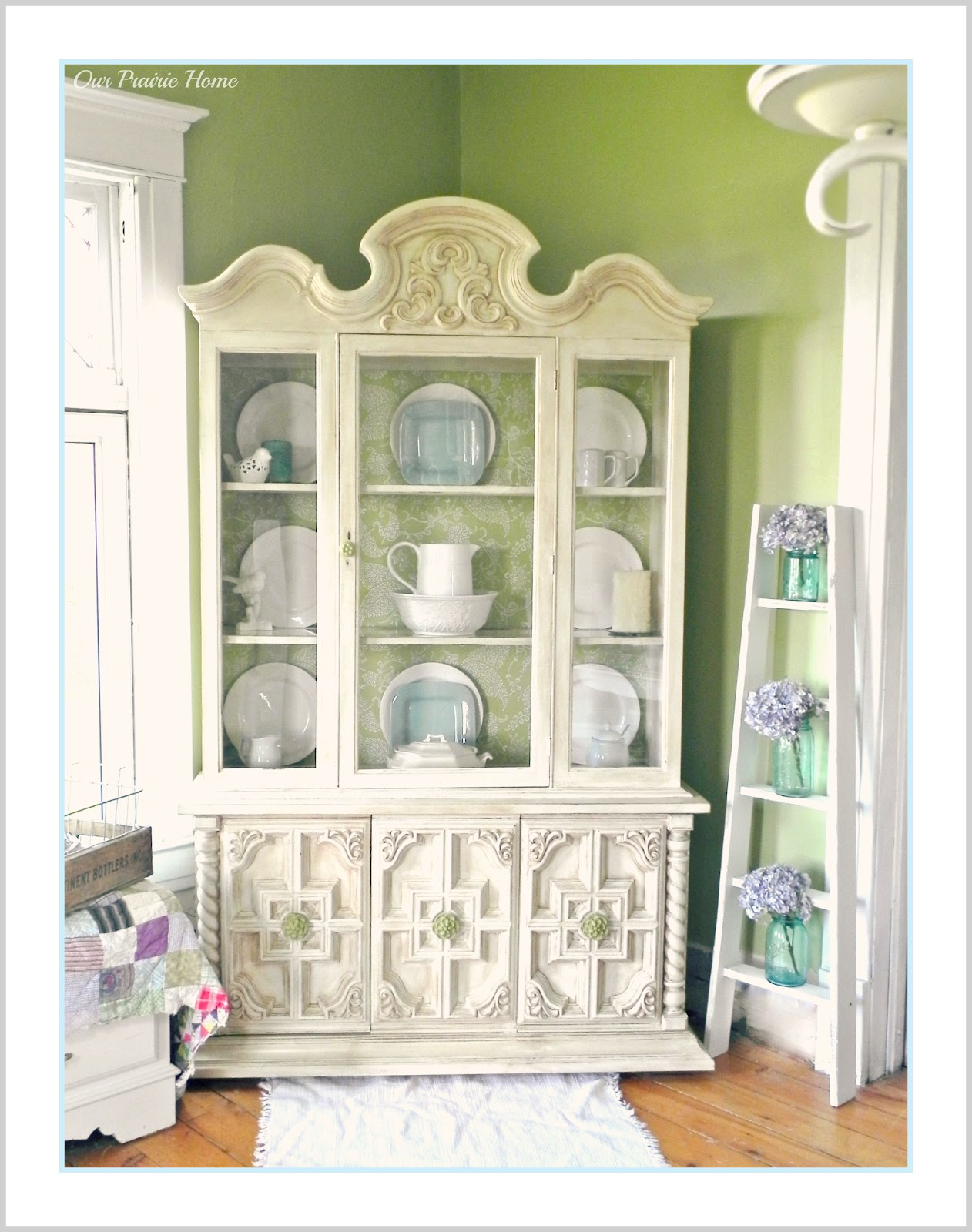 cece china pin of designed hutch caldwell painted cabinet s three birds philadelphia parchment clayton nc little by