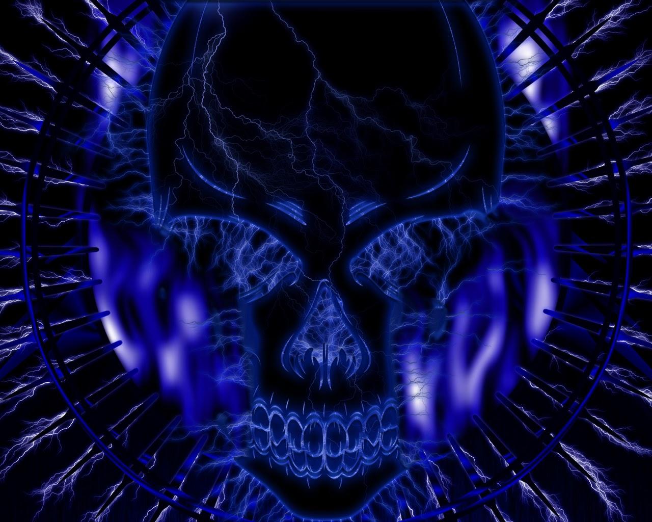 Fantastic   Wallpaper Home Screen Skull - blue+skull+photos++3  You Should Have_742989.jpg