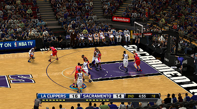 NBA2K Mods Custom Scoreboard Fox Sports TV NBA 2K13 Patch