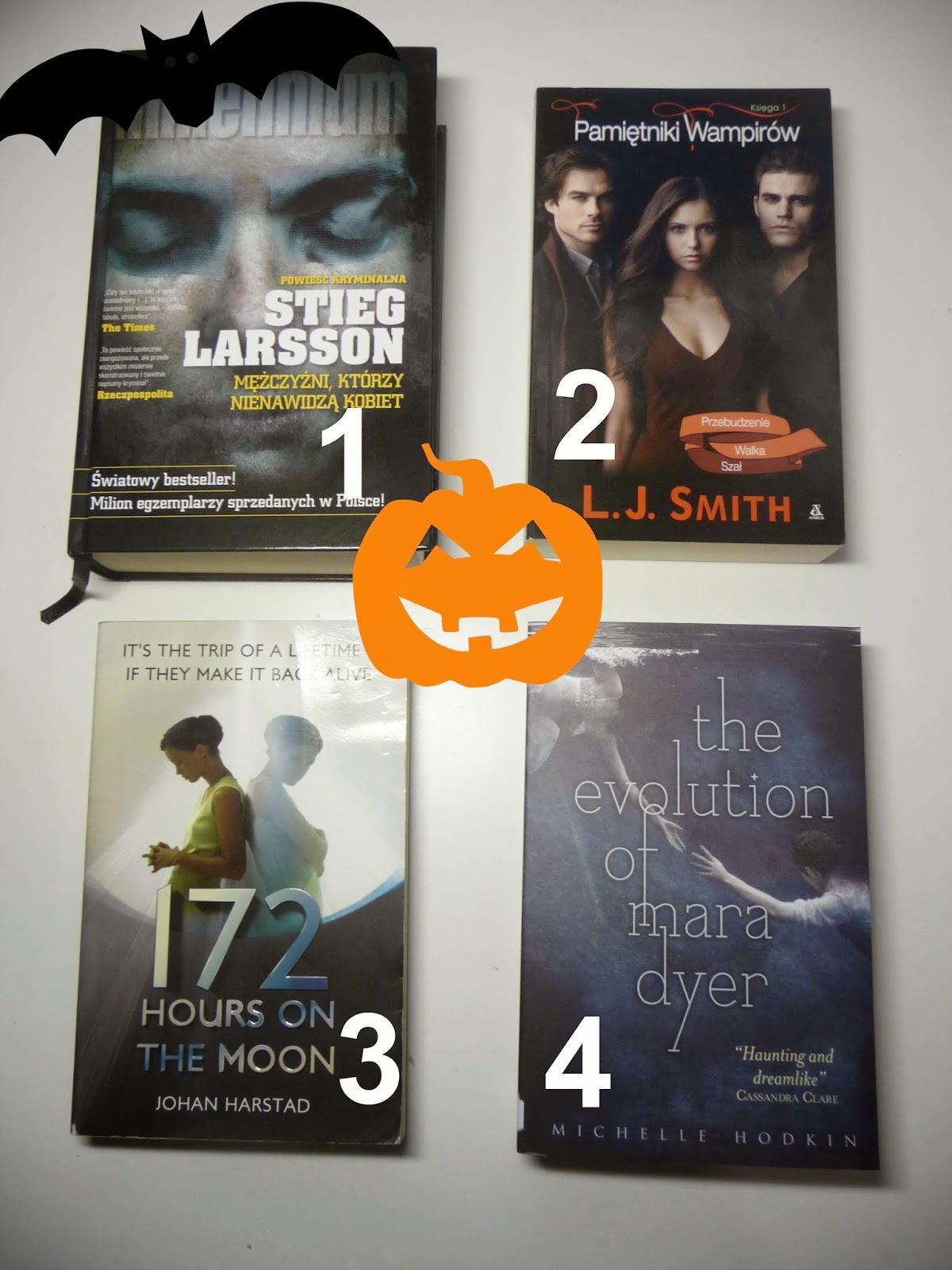 4 typy książek na Halloween