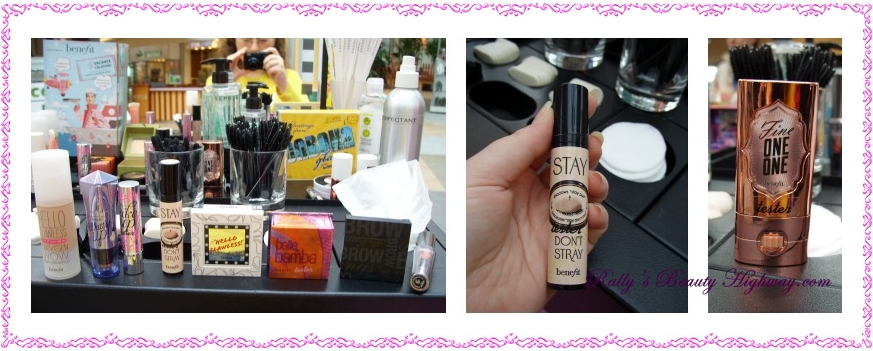 Makeup session, Benefit, Brow Bar, Sephora