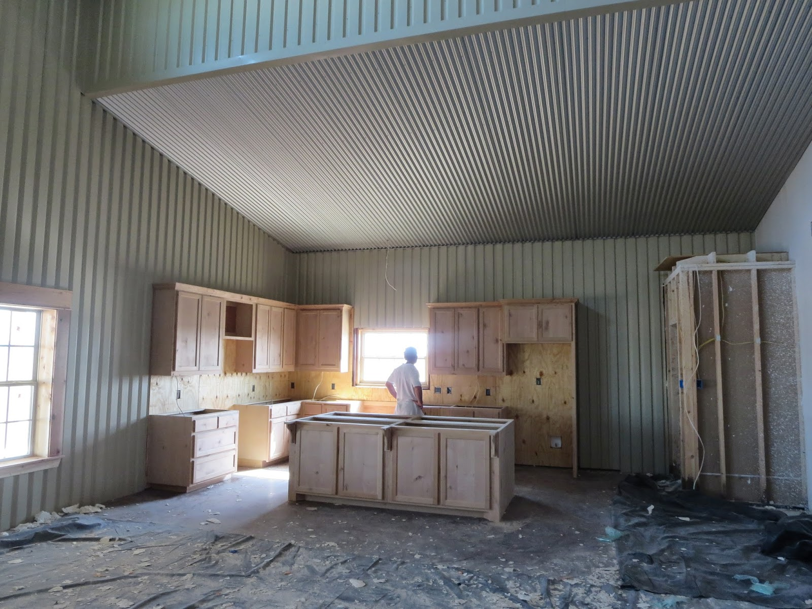 Weld House Homes Barndominium Update