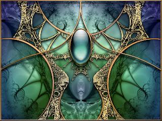 spiritual 3d fractal wallpaper