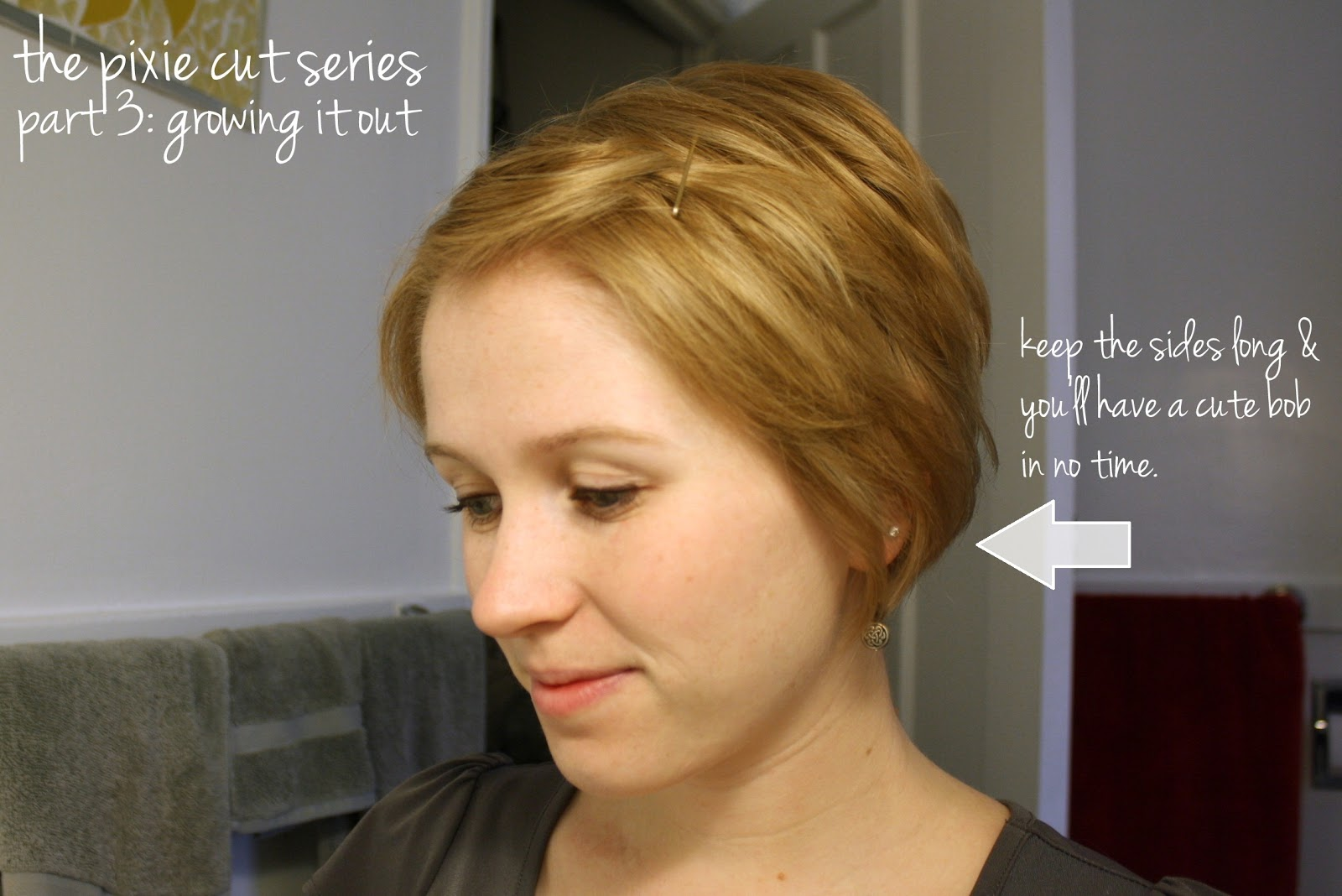 let the sides grow those parts around your ear will grow out and will ...