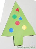 Tarjetas navideñas3: Con formas