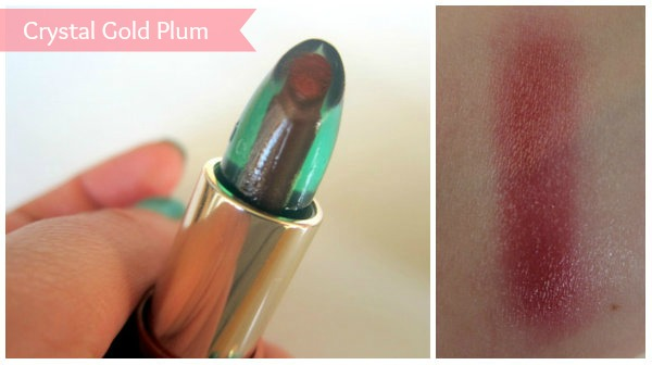 Clarins Instant Smooth Crystal Lip Balm in Crystal Gold Plum
