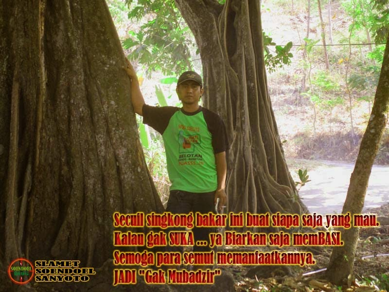 Secuil Singkong Bakar Panas