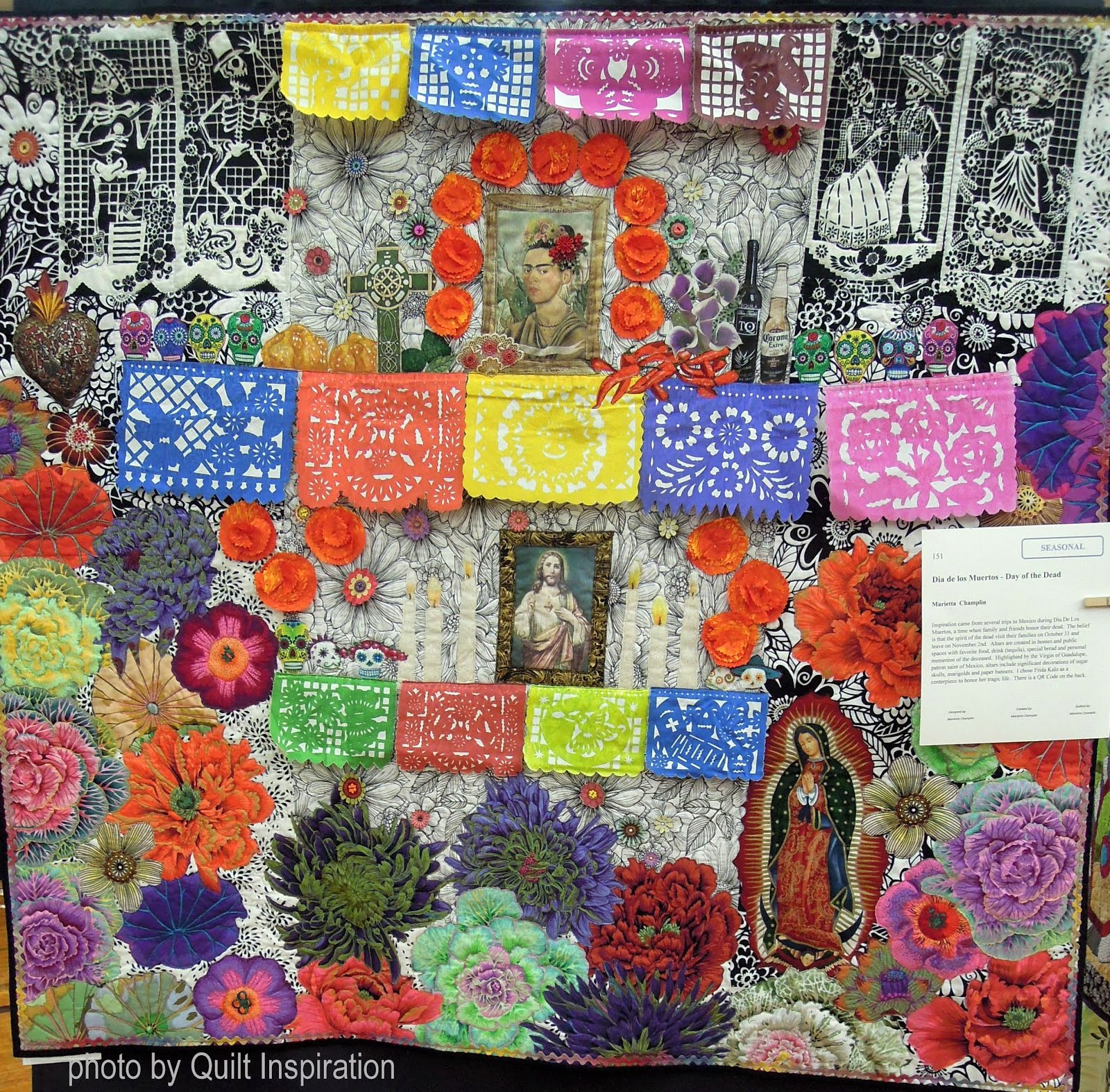 Quilt Inspiration: All Hallow\'s Eve and Day of the Dead