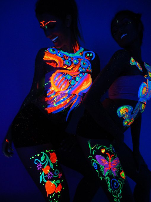 How To Get Neon Paint Out Of Clothes