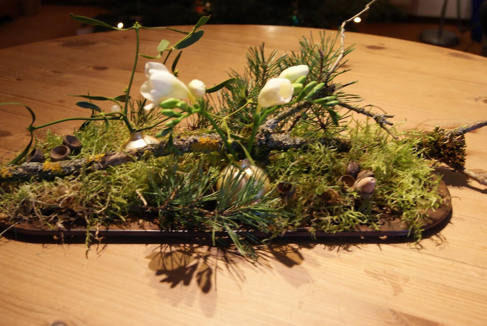 Filz Und Garten Gartenblog Winterliche Tischdekoration