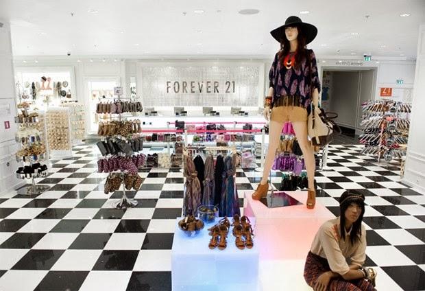 A primeira loja da Forever 21 no Brasil